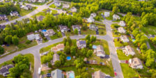 defensible space around suburban homes