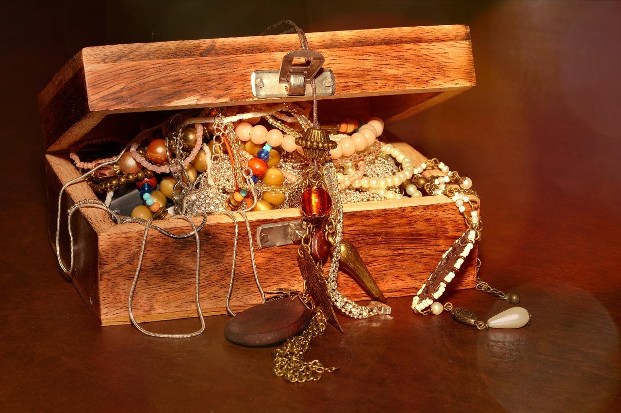 not organized jewelry